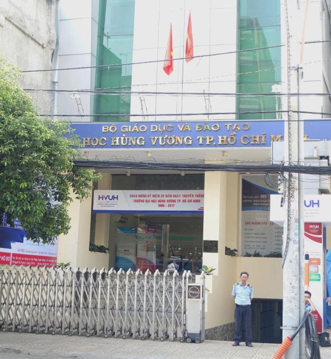 Trường ĐH Hùng Vương TP.HCM - Ảnh: Như Hùng