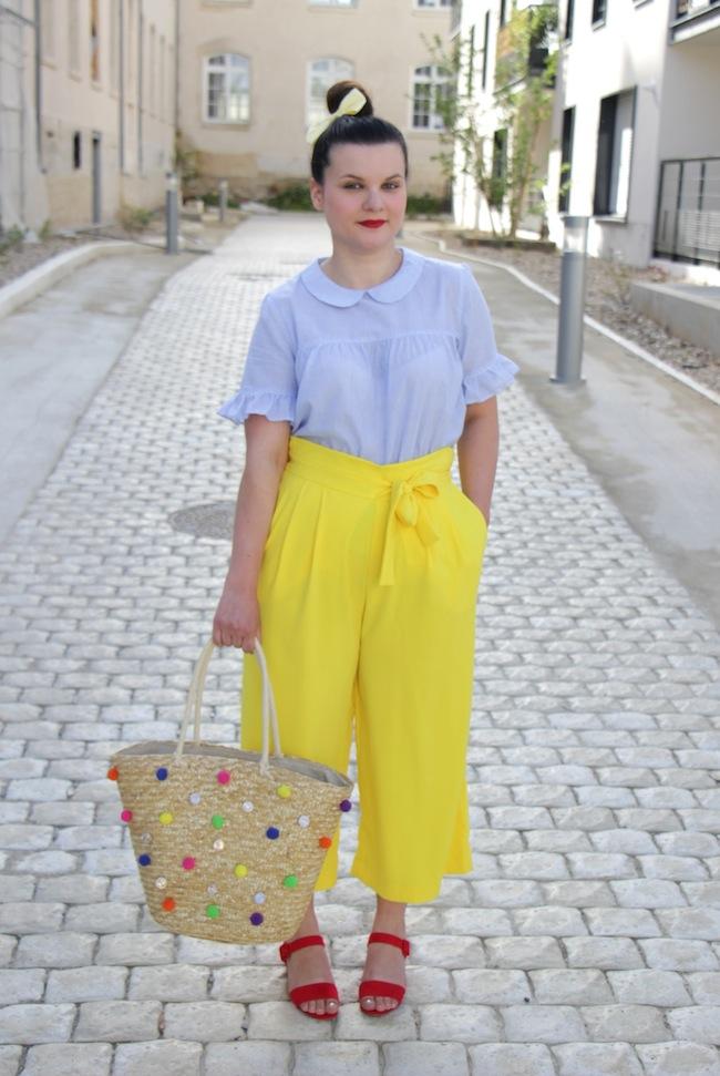 jupe_culotte_jaune_panier_pompons_conseils_blog_mode_la_rochelle_9