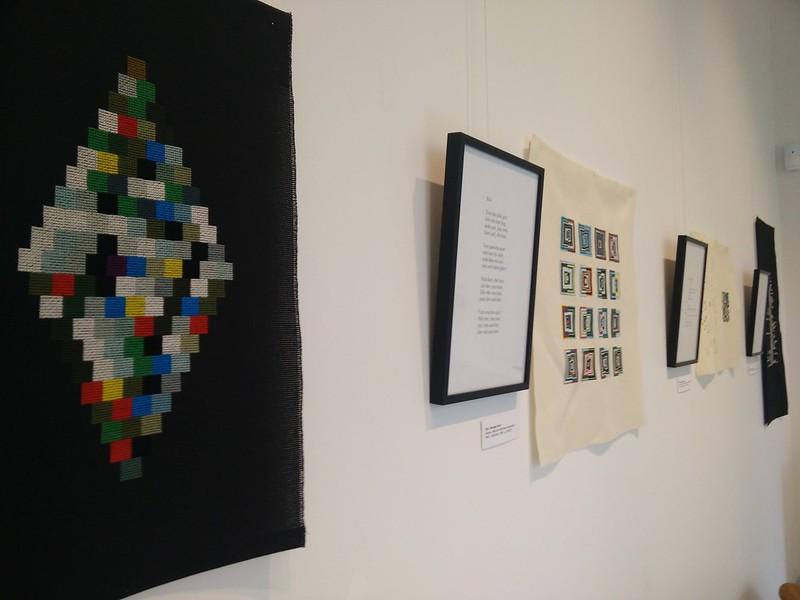 Exposition Perec au fil médiathèque Françoise Sagan