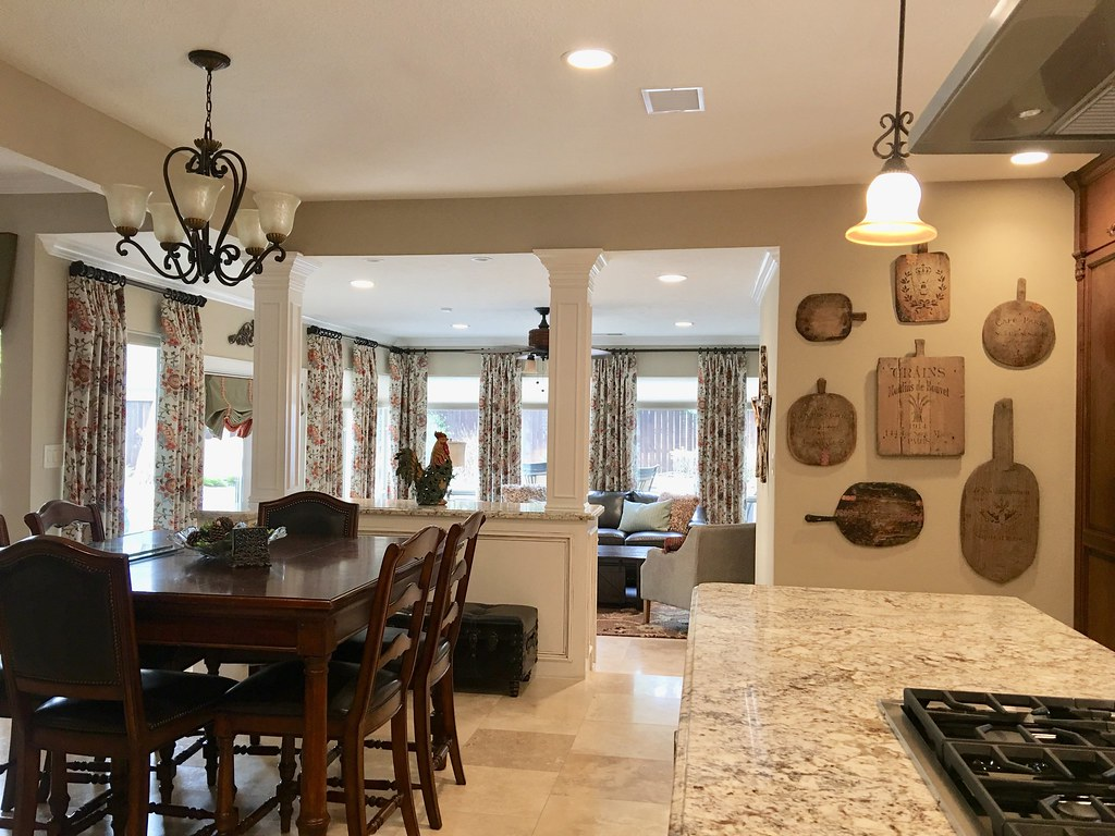 Sunroom Kitchen Are Family Room In Kingwood This Is The S Flickr