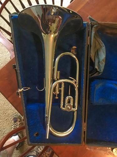 French Horn Valve Bugle
