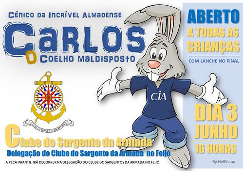 A4 - Carlos o coelho maldisposto