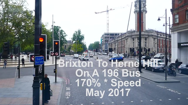 Brixton To Herne Hill Bus Ride
