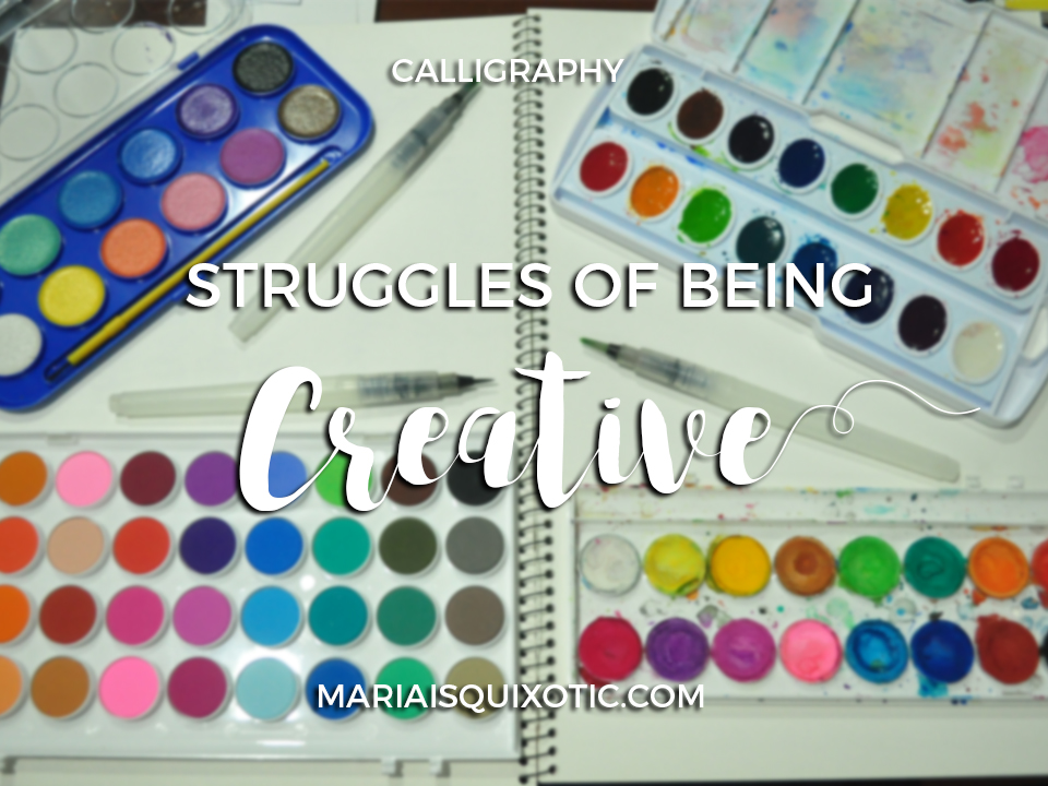 Struggles of Being a Creative