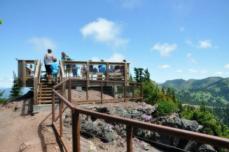 Iron Mountain Summit Platform @ Mt. Hope Chronicles