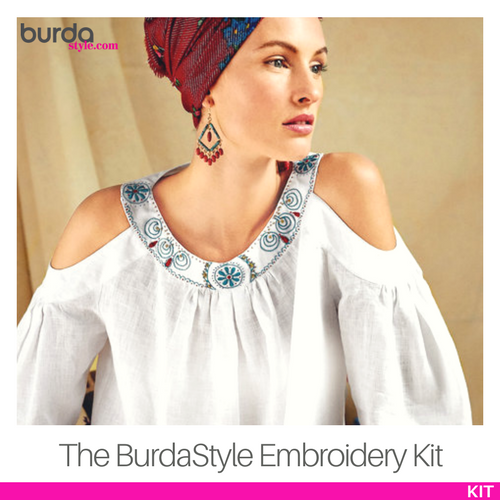 The BurdaStyle Embroidery Kit