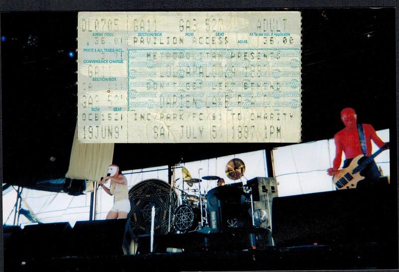 1997-07-05 Tool @ Darien Lake (Lollapalooza 1997)