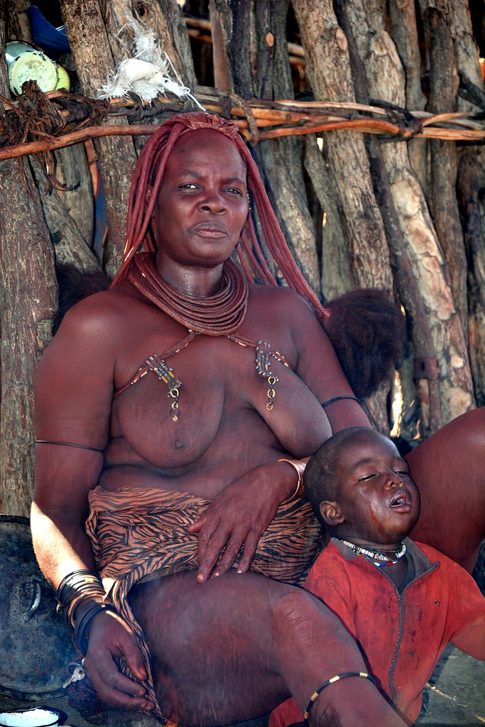 Quot Sad Faces Quot Himba Village Life In Kaokoland Namibia