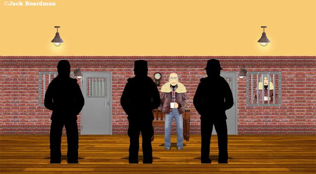 Lester Showalter was shot dead ©Jack Boardman