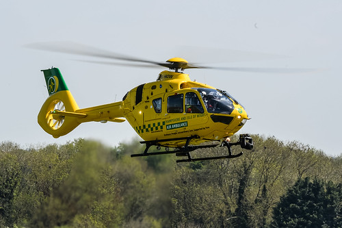 Thruxton_BTCC_07_May_2017_DG_0305.jpg  Hampshire & Isle of Wight Air Ambulance. Airbus Helicopters H135. G-HIOW.