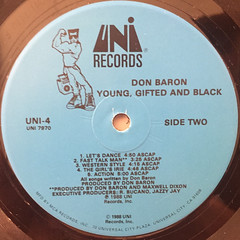 DON BARON:YOUNG,GIFTED AND BLACK(LABEL SIDE-B)