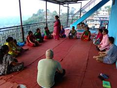 Yoga Satra at Thadi Village
