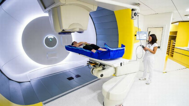 First cancer-fighting proton beam therapy machine arrives in the UK