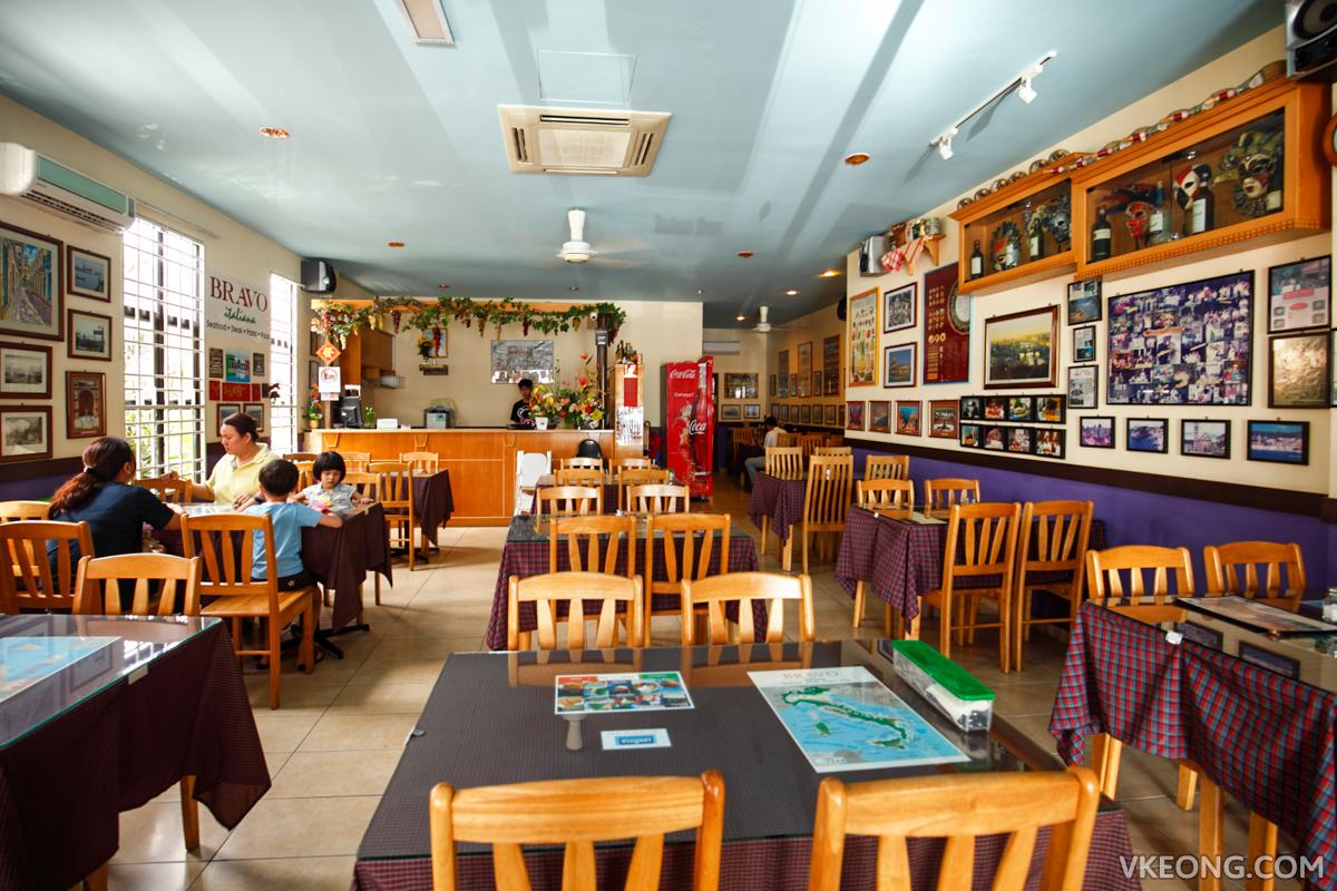 Bravo Italiana Restaurant Raja Uda