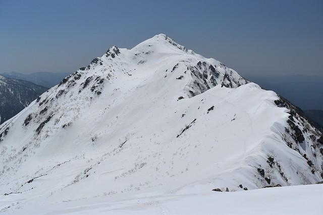 GW残雪登山 中央アルプス・雪の三ノ沢岳