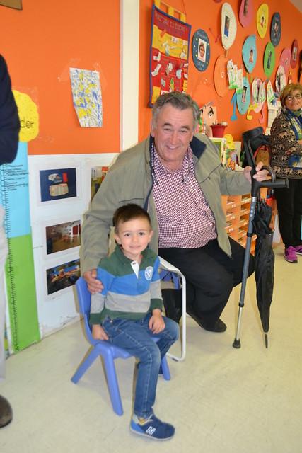 Día de los Abuelos 2 años Novaschool Granada