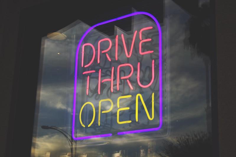 Drive Thru Open, Burbank