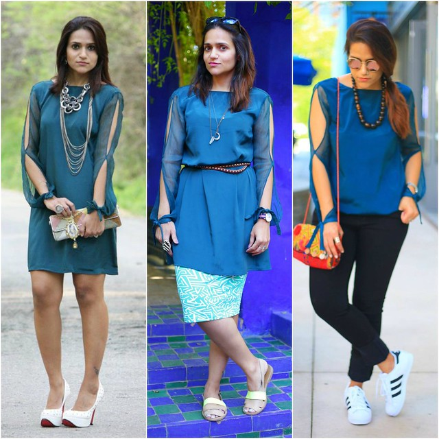 Three Ways To Style a Dress Tanvii.com