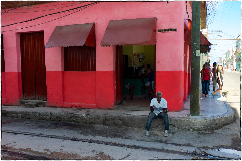 A Very Red Bar, Havana, February 12, 2017