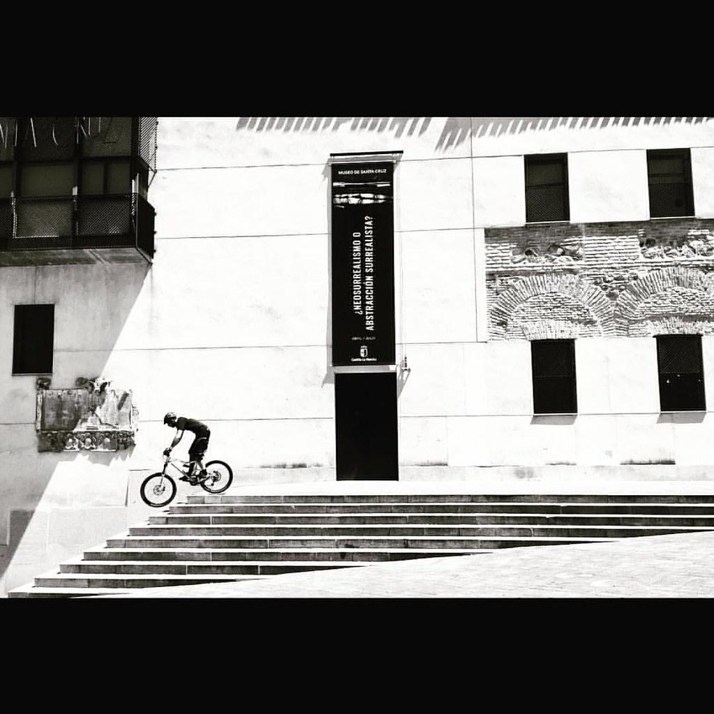 #biker in #toledo #spain