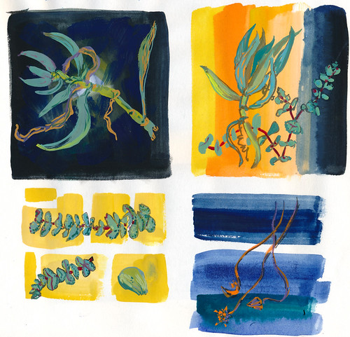 Sketchbook #103: Gouache