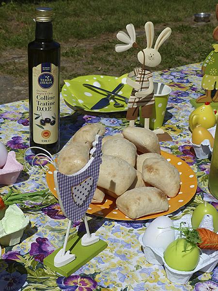 ciabatte et huile d'olive