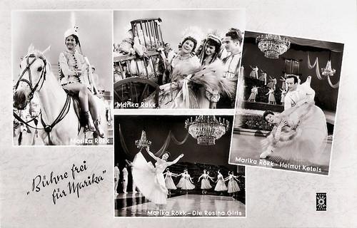 Marika Rökk in Bühne frei für Marika (1958)