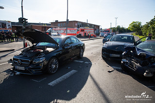 Verkehrsunfall Bahnhof Kastel 16.05.17