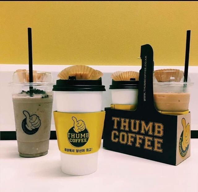 Suntec City Sweet Treats: Thumb Coffee