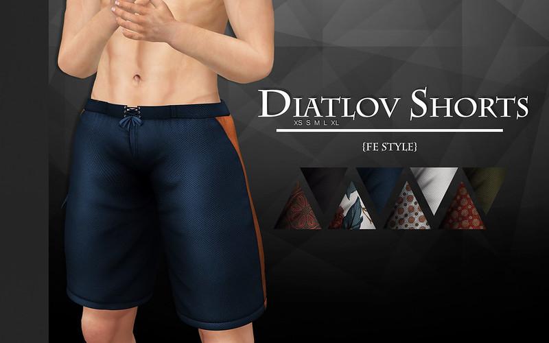 Diatlov Shorts