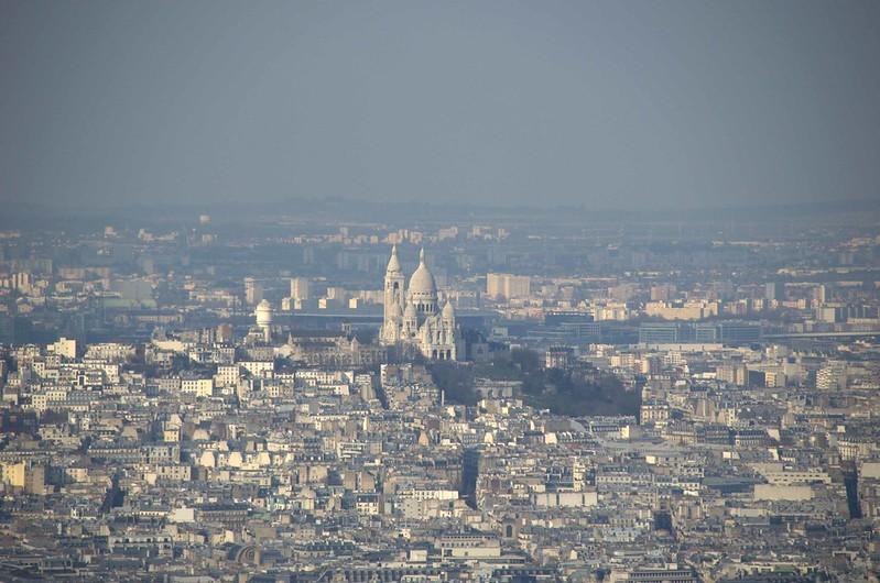 Sacre-Coeur vista Torre Montparnasse