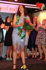 Jenna O'Sullivan, representing the Waikato Irish Club