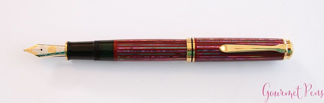 Review Pelikan Souverän M1000 Sunrise LE Fountain Pen @Pelikan_Company @vulpennen 6