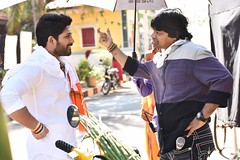 DuvvadaJagannadham Movie Working Stills