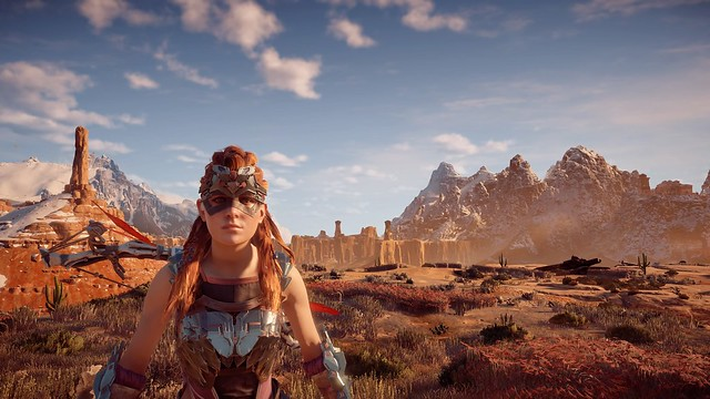 Horizon Zero Dawn Photo Mode