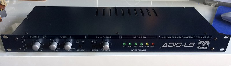 fs palmer pga 04 adig lb speaker simulator load box 8 ohms amps discussions on thefretboard. Black Bedroom Furniture Sets. Home Design Ideas