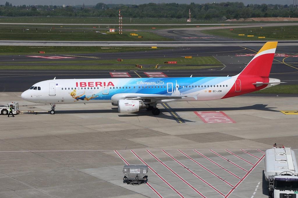 Iberia A321 EC-JZM DUS
