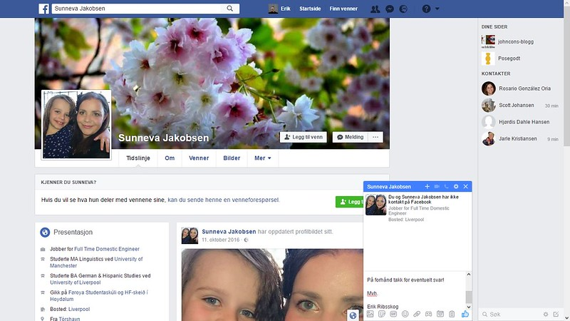 færøyene 1 hm facebook