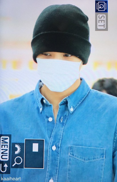 170511 Kai at Haneda Airport