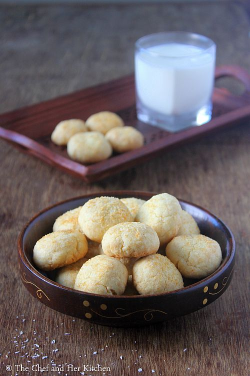 eggless coconut cookies