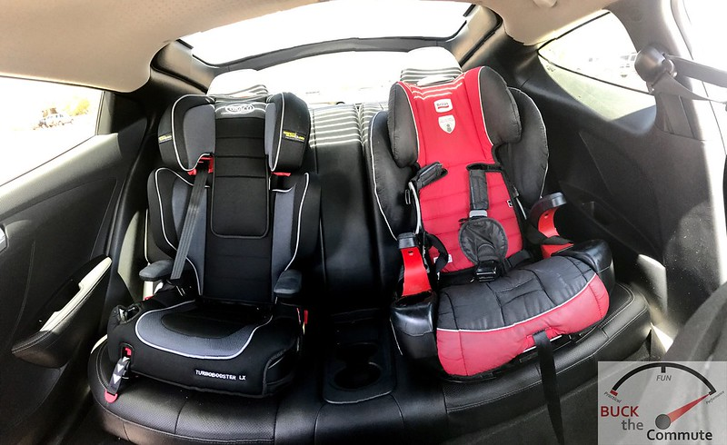 2013 Veloster Turbo Back Seat Car Seats | Buck The Commute