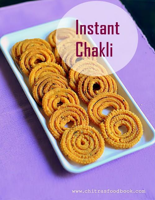 Instant Chakli recipe - Karnataka style