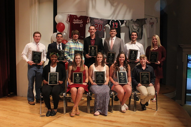 2016-17 Guilford College Award Winners