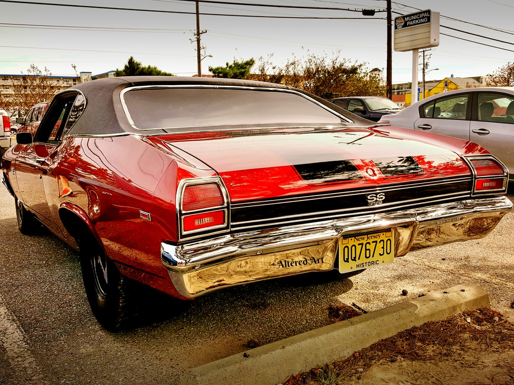 Rear End Muscle Cars 69 Chevelle Ss Taken At Cruisin W Flickr