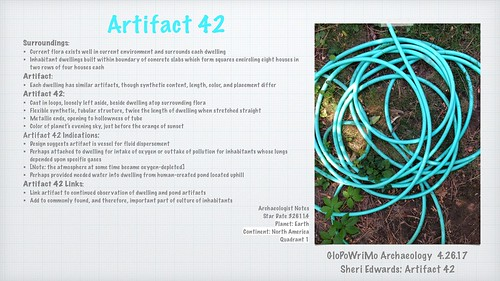 GloPoWriMo 42617 Artifact 42 | by teach.eagle