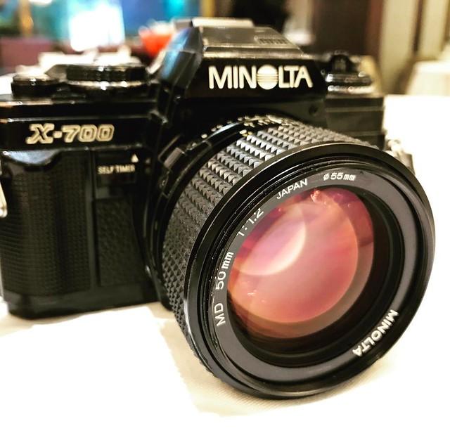 Minolta MD 50mm f1.2