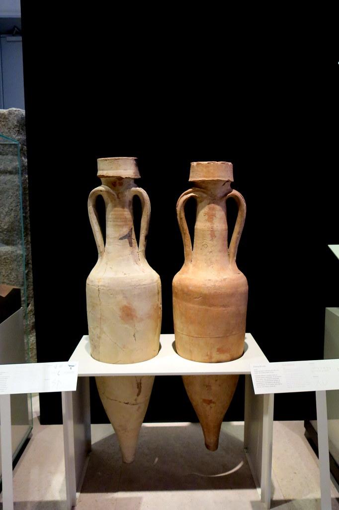 Museo Arqueológico Nacional: ánforas para vino
