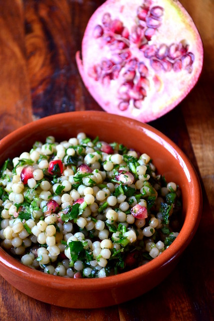 Pomegranate-and-Lemon-Israeli-Couscous