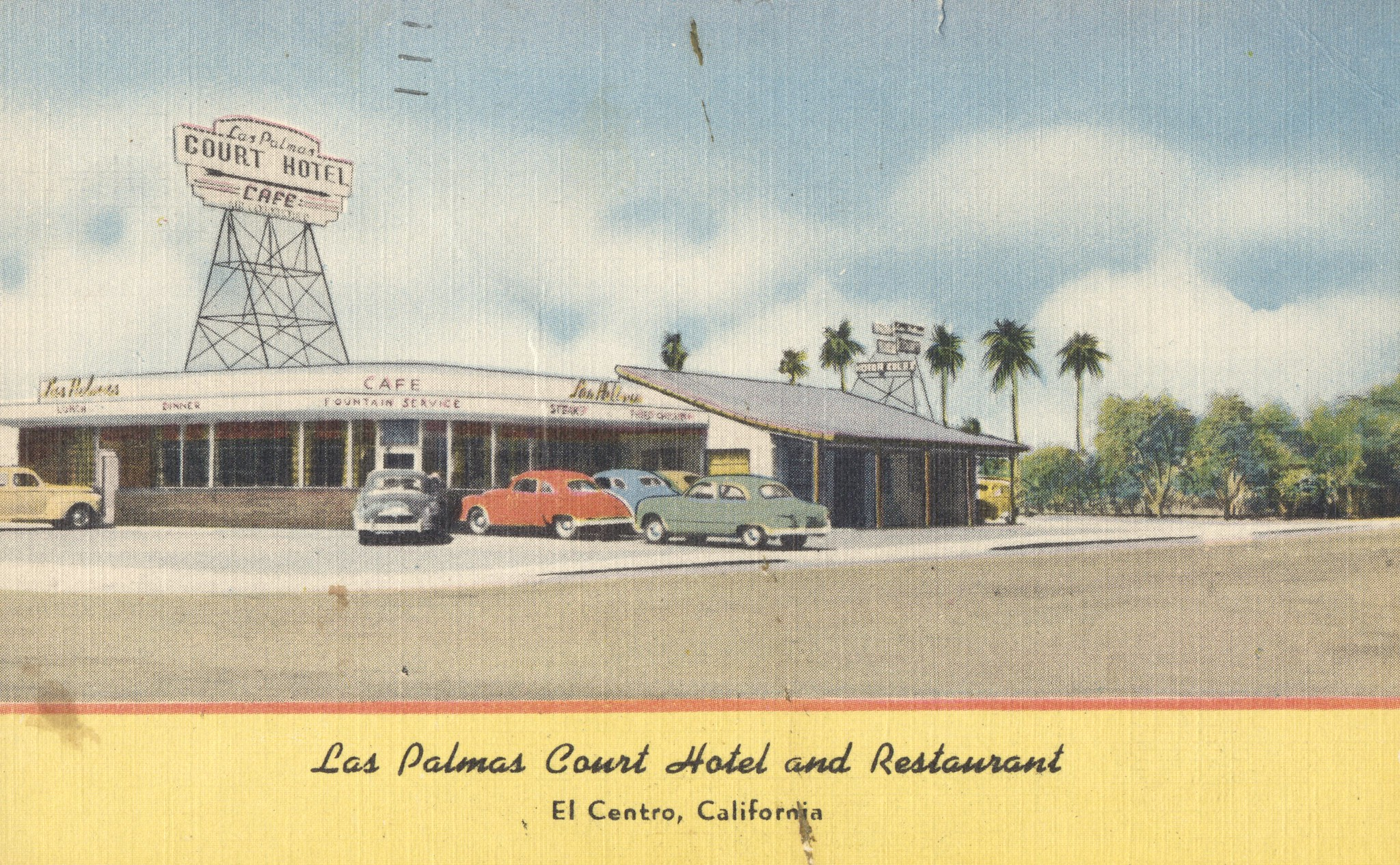 Las Palmas Court Hotel and Restaurant - El Centro, California