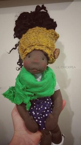 """Ahmeda- 13"""" Lil Chickpea"""